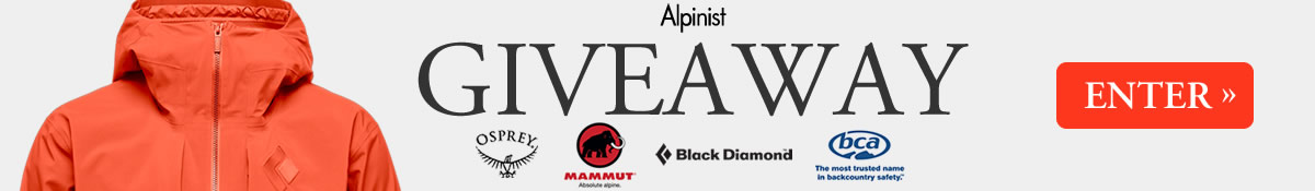 Enter the Alpinist Fall Giveaway