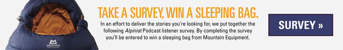 Take the Alpinist Podcast Survey
