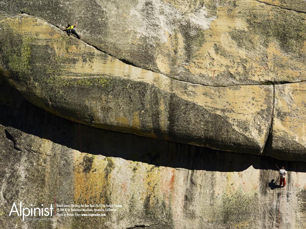 Rock climbing wall wallpaper