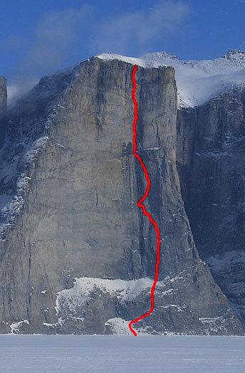 Big New Aid Routes In Baffin Alpinist Com