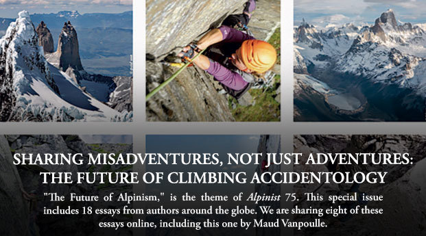 Sharing Misadventures, not just Adventures: The Future of Climbing Accidentology