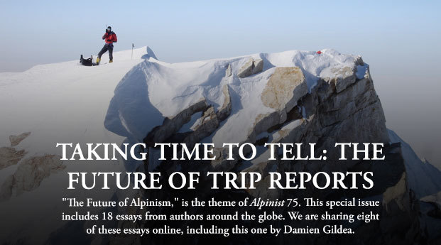 Taking Time To Tell: The Future of Trip Reports