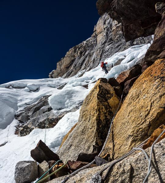 cefd4c86d8 Alpine-Style Attempts on the South Face of Nuptse - Alpinist.com