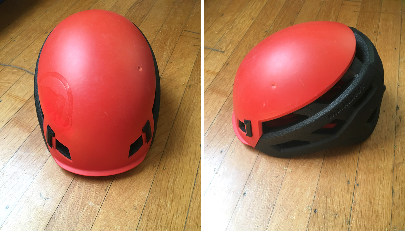 The Mammut Wall Rider Helmet. [Photo] Drew Thayer