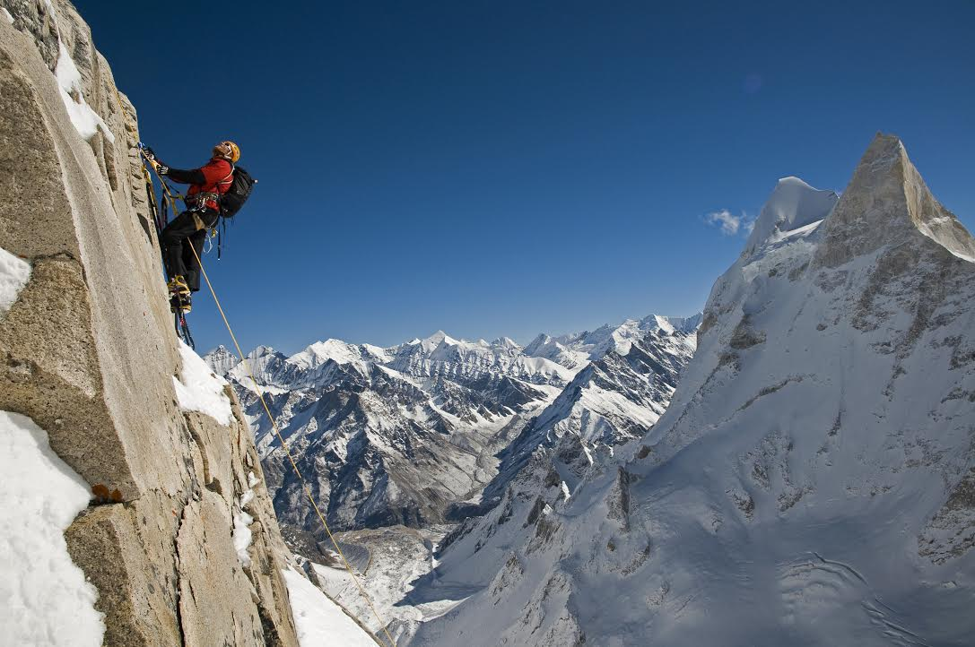 Conrad Anker is the keynote speaker for the 2017 American Alpine Club Annual Benefit Dinner on February 25 in Seattle, Washington. [Photo] Jimmy Chin