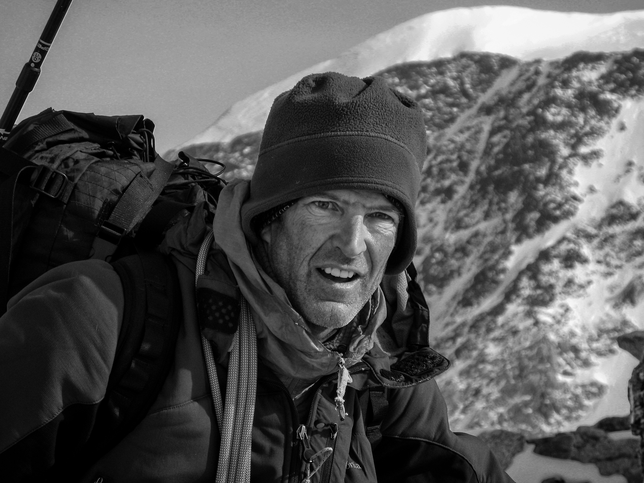 Mark Twight, pictured here on Denali (20,310') in 2009, is receiving the Robert and Miriam Underhill Award [Photo] Courtesy of the American Alpine Club