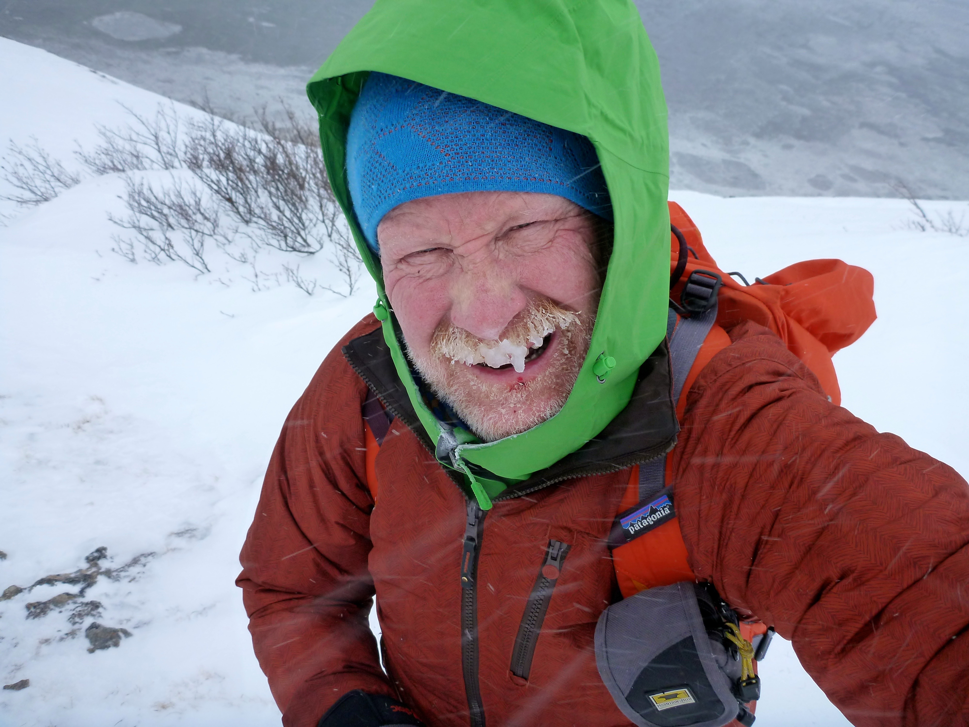 David Stevenson is receiving the H. Adams Carter Literary Award. [Photo] Courtesy of the American Alpine Club