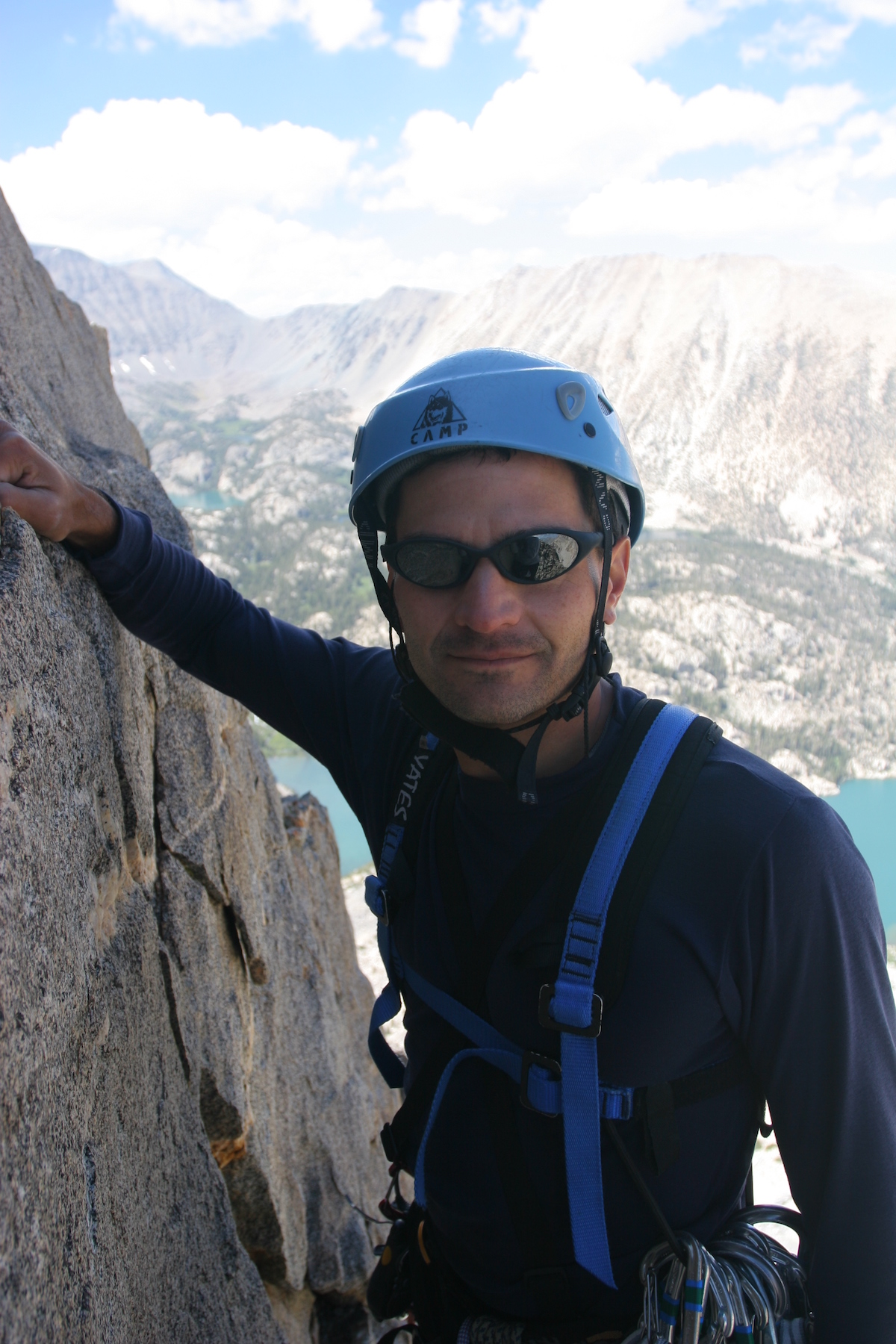 Michael Ybarra climbed extensively in the Sierra Nevada. In June 2012 he passed away during a solo traverse of the Sawtooth Ridge near Bridgeport, Cailfornia. A longtime journalist, he reported on outdoor adventure for The Wall Street Journal, among other publications. For a few of his own stories, see Alpinist 36, 40 and 43. [Photo] Misha Logvinov