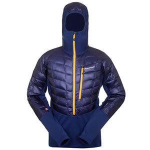 Montane Hi Q Luxe Pro Pull On: Breathable enough to approach, warm