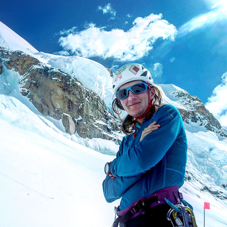 Masha Gordon of the UK is the founder of The Grit and Rock First Ascent Expedition Award. [Photo] Masha Gordon collection