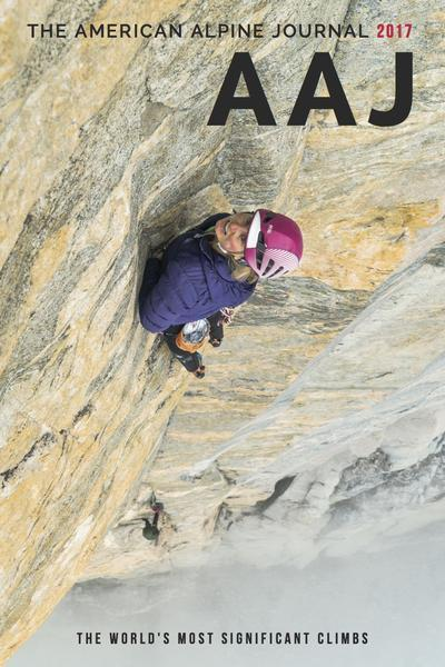 2017 American Alpine Journal cover
