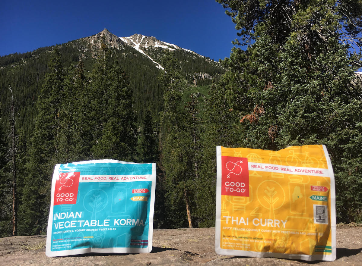 Convenient and tasty meals on Independence Pass, Colorado. [Photo] Derek Franz