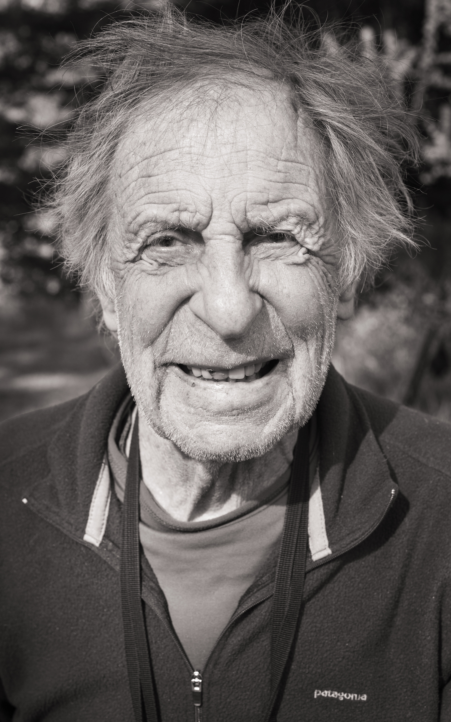 Fred Beckey in 2012. [Photo] Jerry Dodrill