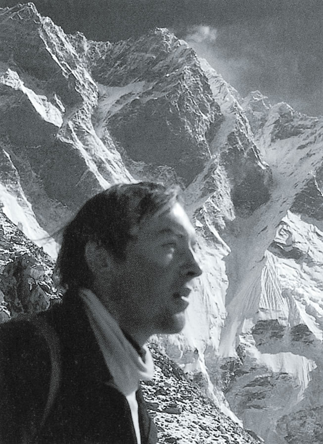 Knez, during the 1981 expedition to the South Face of Lhotse (8516m). [Photo] Ales Kunaver collection/Courtesy of the Slovenian National Museum of Contemporary History