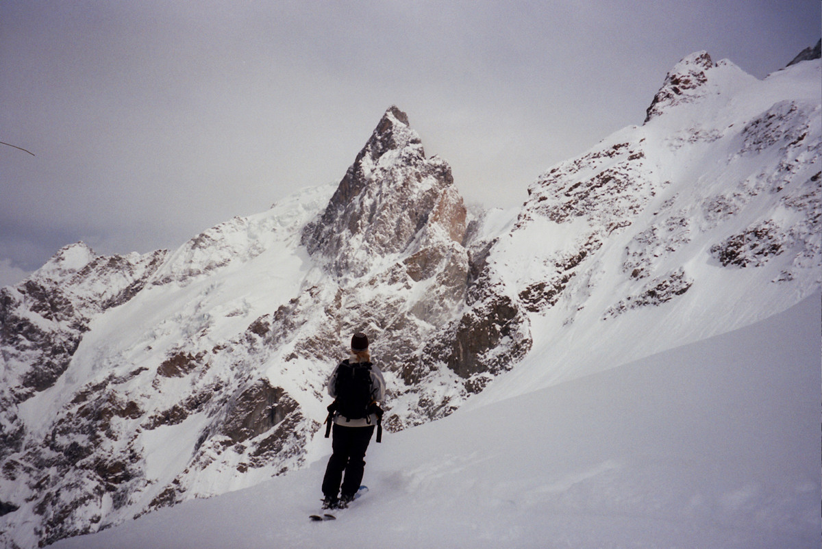 Erin Smart first encountered the mountain in 2004 as a self-described ski bum in La Grave. [Photo] Courtesy of Erin Smart