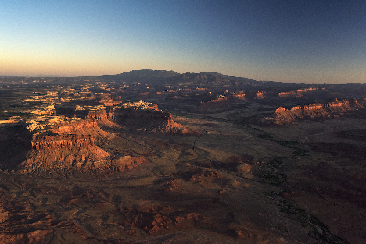 Lockhart Basin is one of the areas no longer included in the two smaller national monuments that replaced the former Bears Ears Monument. [Photo] Tim Peterson, courtesy of Bears Ears Inter-Tribal Coalition