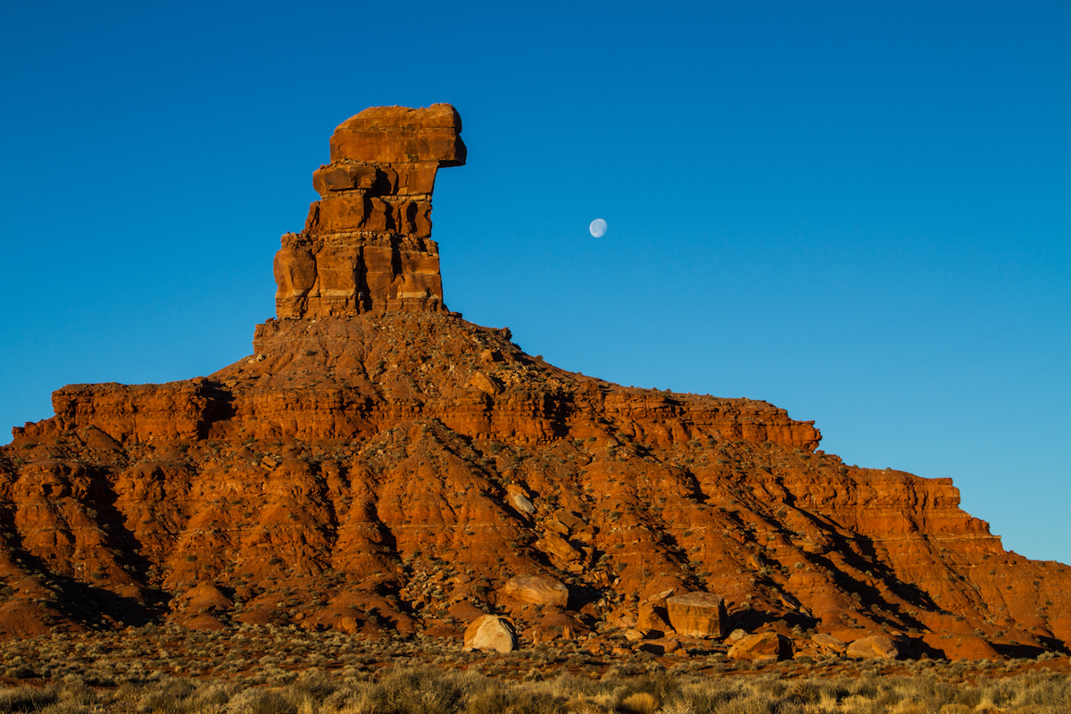 Valley of the Gods no longer holds status as part of a national monument after Trump's proclamation. [Photo] Josh Ewing, courtesy of Bears Ears Inter-Tribal Coalition