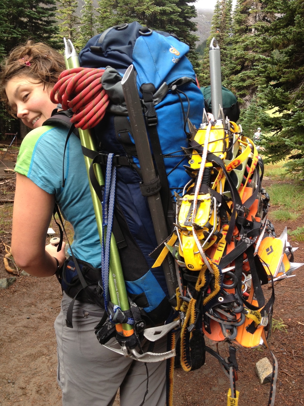 Author and Seattle Mountain Rescue volunteer Bree Loewen. [Photo] Bree Loewen Collection