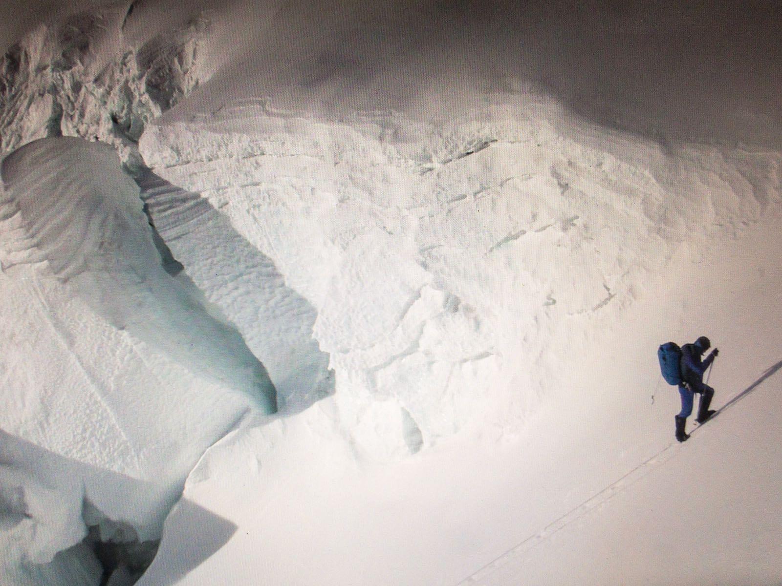 Jornet on his May 21 speed ascent of Everest's North Col route. [Photo] Sebastien Montaz-Rosset/Kilian Jornet collection