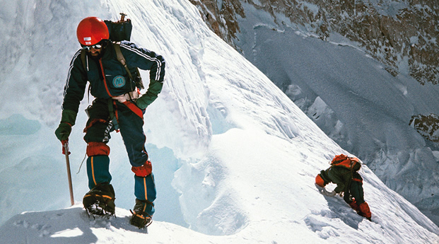 1975: New Zealand Expedition Jannu North Face - By Graeme Dingle