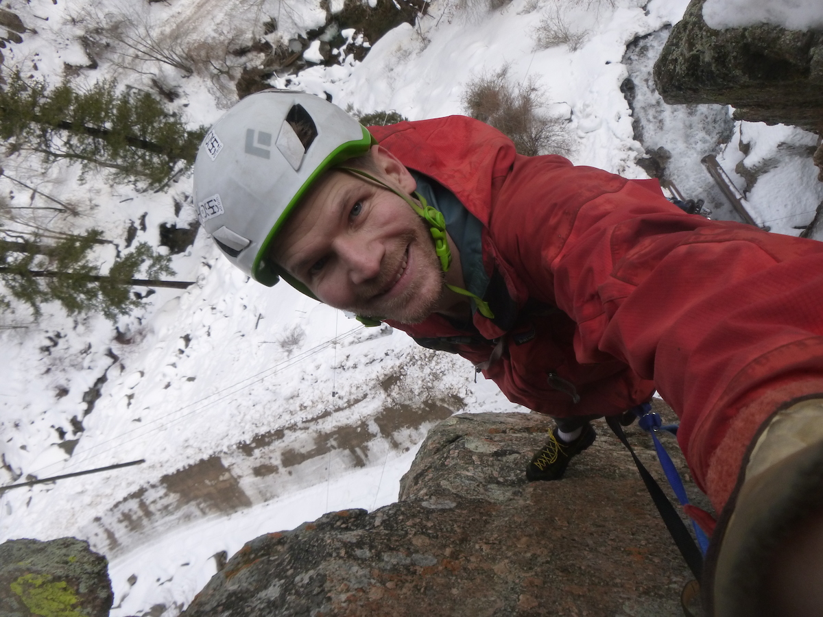 The author was pleased with the TX2s after two days of rope soloing in Glenwood Canyon, Colorado. [Photo] Derek Franz