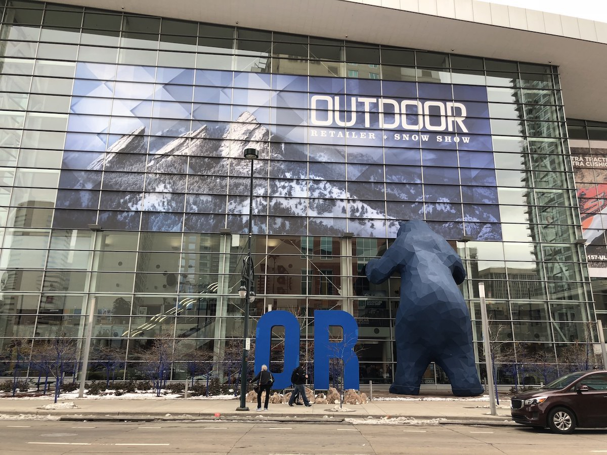 The Colorado Convention Center during the inaugural 2018 winter Outdoor Retailer and Snowsports Industry of America trade show in Denver. [Photo] Courtesy of Outdoor Industry Association