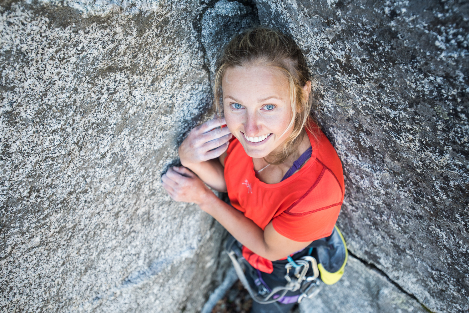 Brette Harrington. [Photo] Francois Lebeau, courtesy of the American Alpine Club