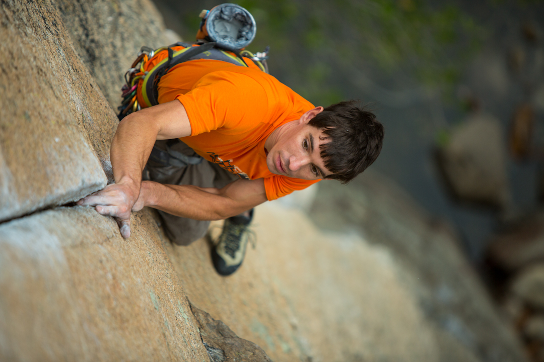 Alex Honnold. [Photo] Andrew Burr