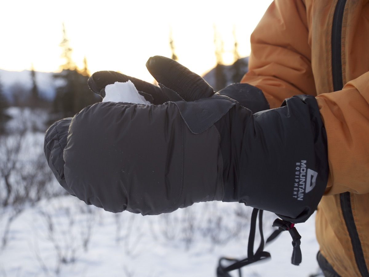 The Mountain Equipment Citadel Mitts. [Photo] Clint Helander