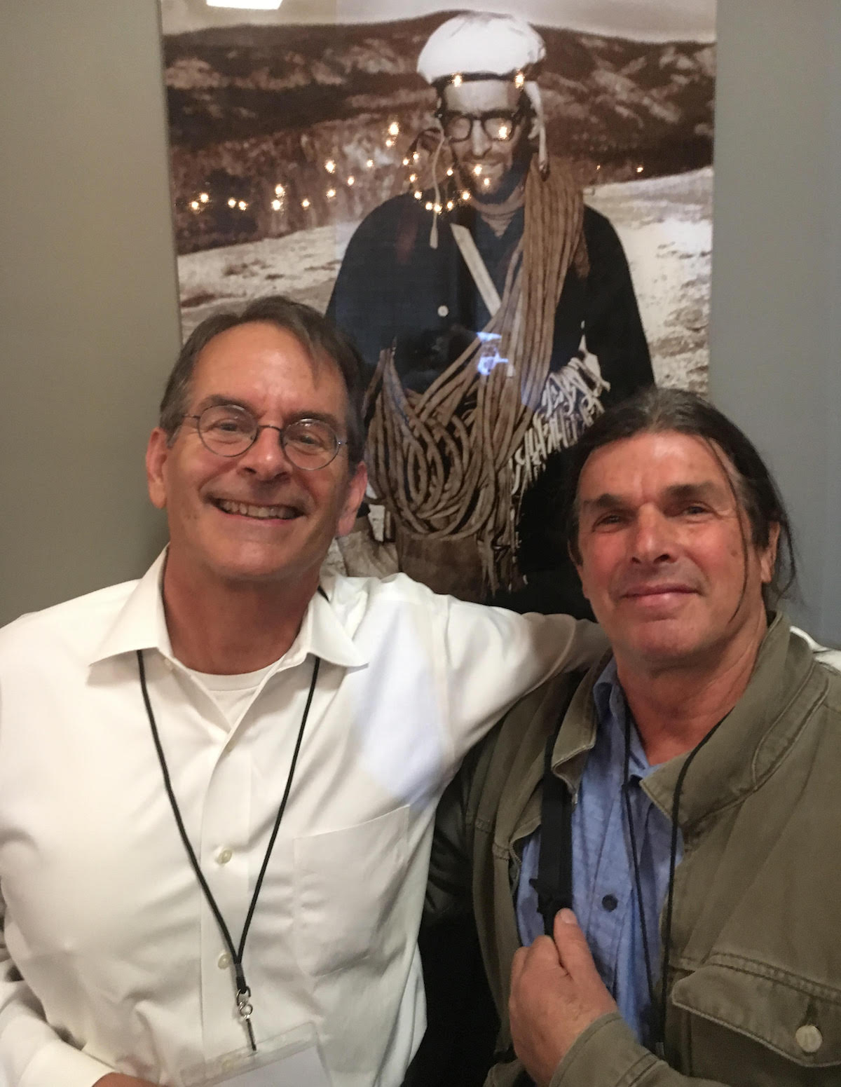 Rick Accomazzo and Ron Kauk. [Photo] Derek Franz