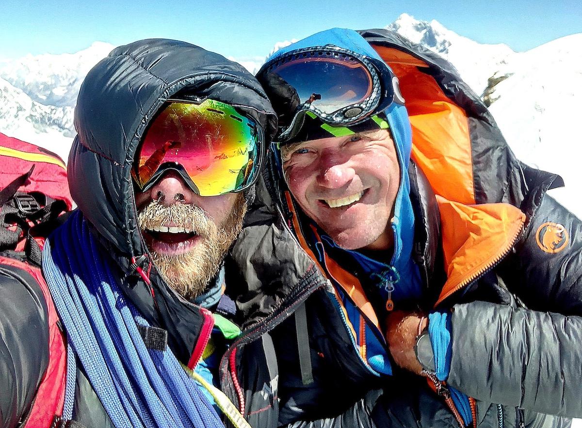 Zdenek Hak, left, and Marek Holecek. [Photo] Zdenek Hak and Marek Holecek collection