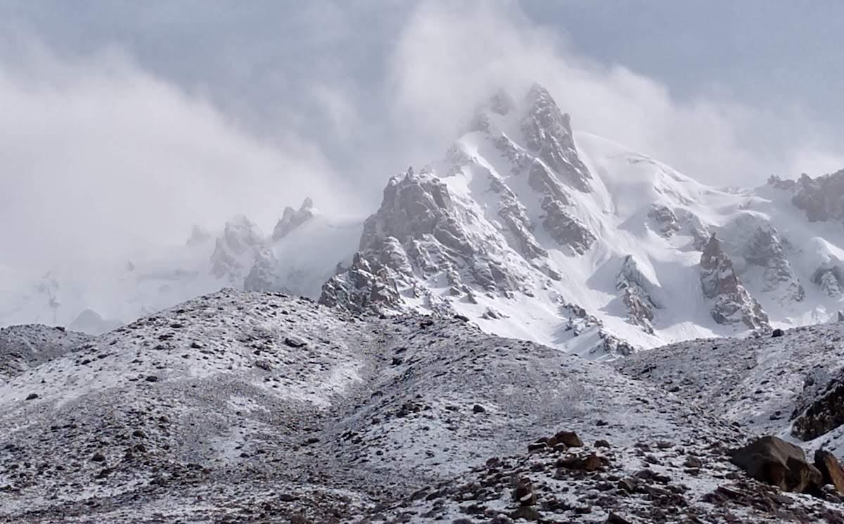 Chashkin I (6035m), Pakistan. [Photo] Tico Gangulee