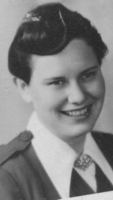 Jean Crenshaw as a young woman. [Photo] Courtesy of Paula Crenshaw