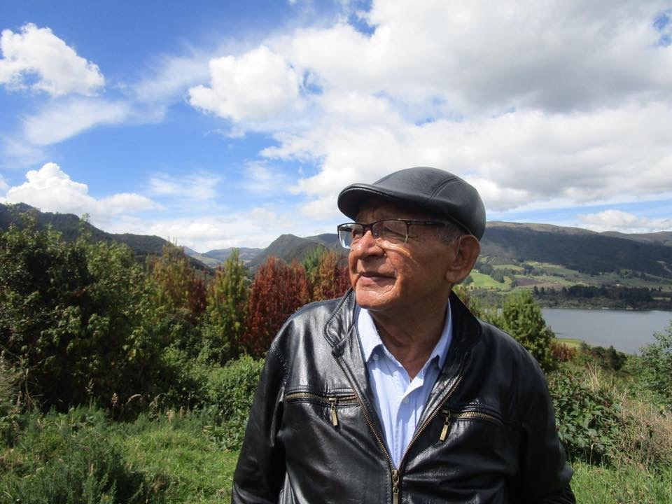 The author's father, Ricardo Cholo, in Cogua, Colombia, January 2018. [Photo] Ana Beatriz Cholo collection