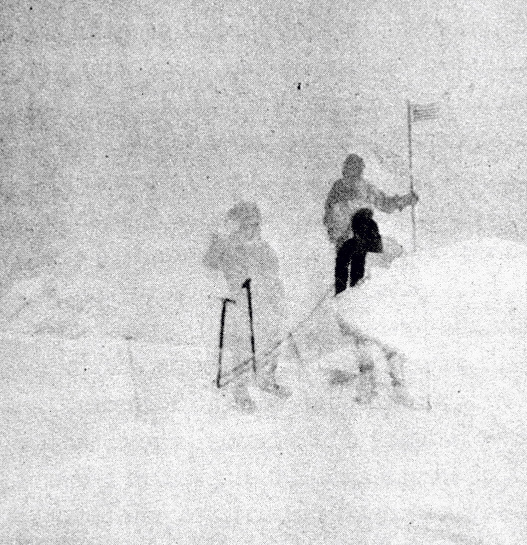 Robert Tatum on the summit of Denali, June 7, 1913. [Photo] Hudson Stuck