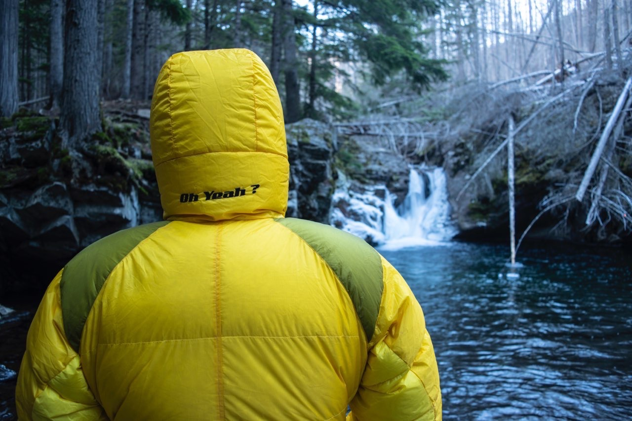 The back of the Valandre Troll jacket. [Photo] Mike Beegle