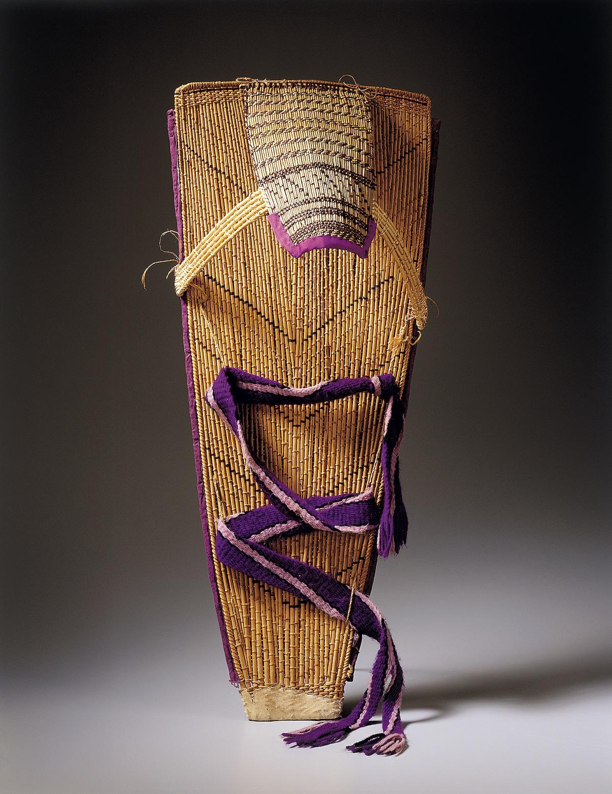 Lonnie's cradleboard. [Photo] Lee Fatherree, Courtesy Deborah Valoma
