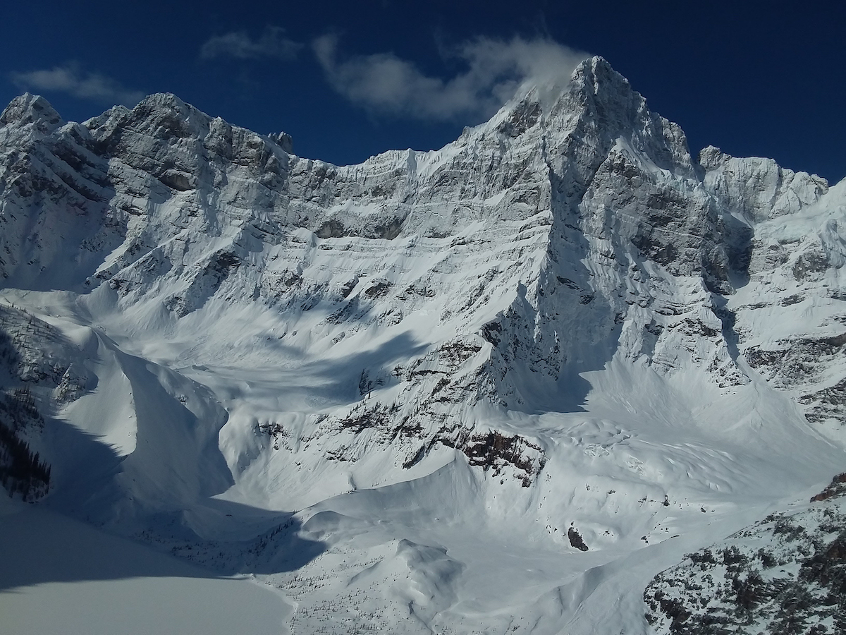 The east face of Howse Peak, Icefields Parkway, Alberta, Canada. [Photo] Courtesy of Parks Canada