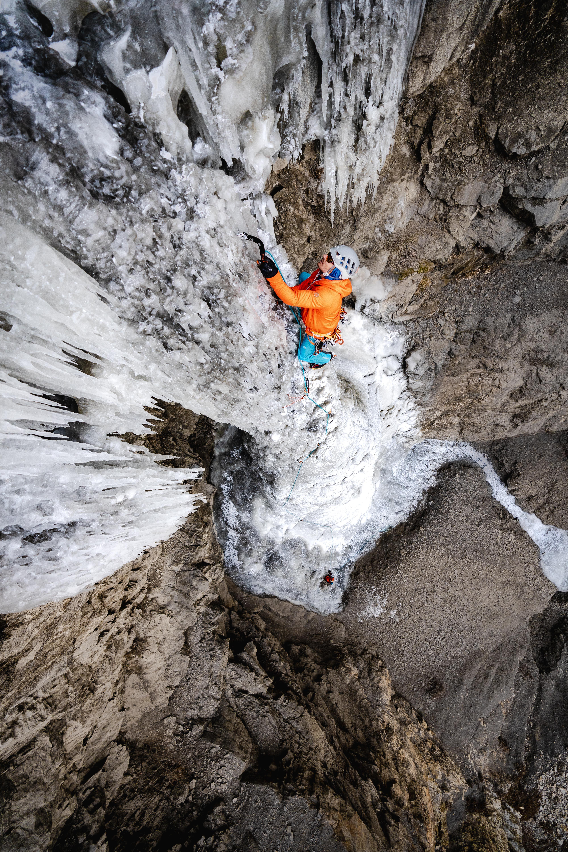 Karsten Delap on Frozen Deisel (HWI 6+). [Photo] Austin Schmitz