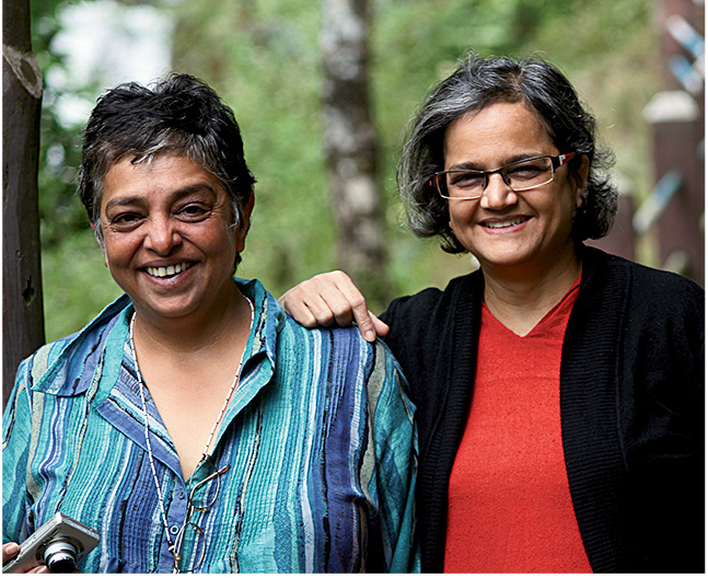 The authors Nandini Purandare and Deepa Balsavar have been collecting oral histories from Sherpa mountaineers of Darjeeling since 2012. They are currently at work on a book about the project. [Photo] Courtesy The Sherpa Project
