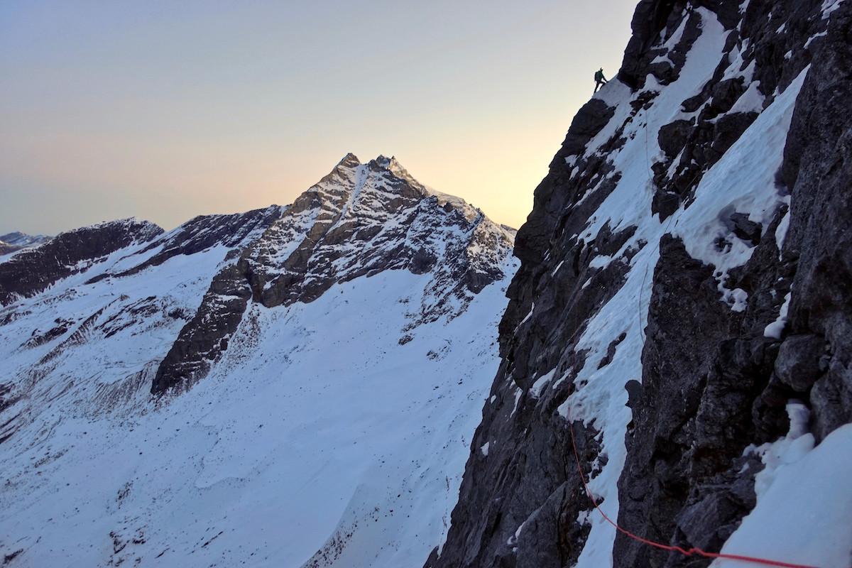 Near the top. [Photo] Luka Lindic