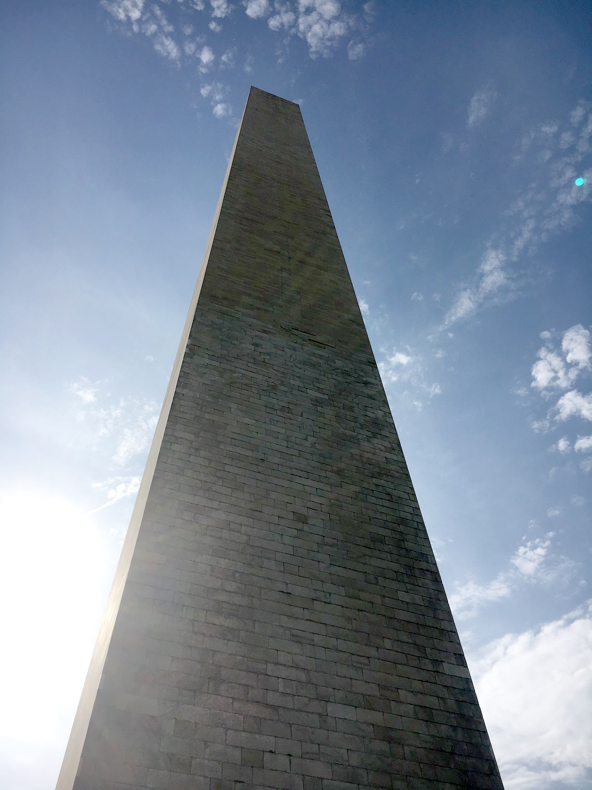 The Washington Monument during the 2017 Climb the Hill event. [Photo] Derek Franz