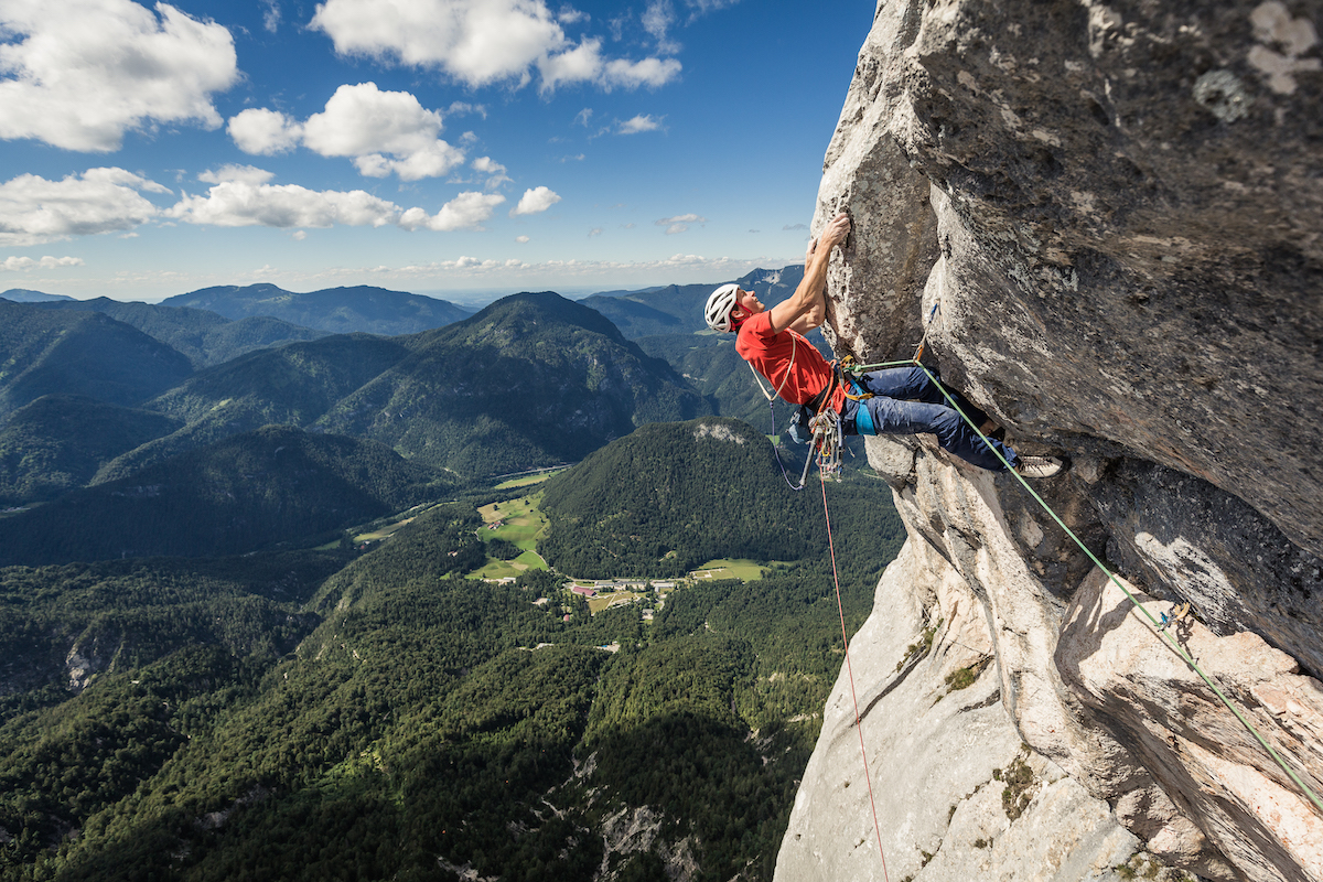Lindic near the top. [Photo] Klaus Fengler