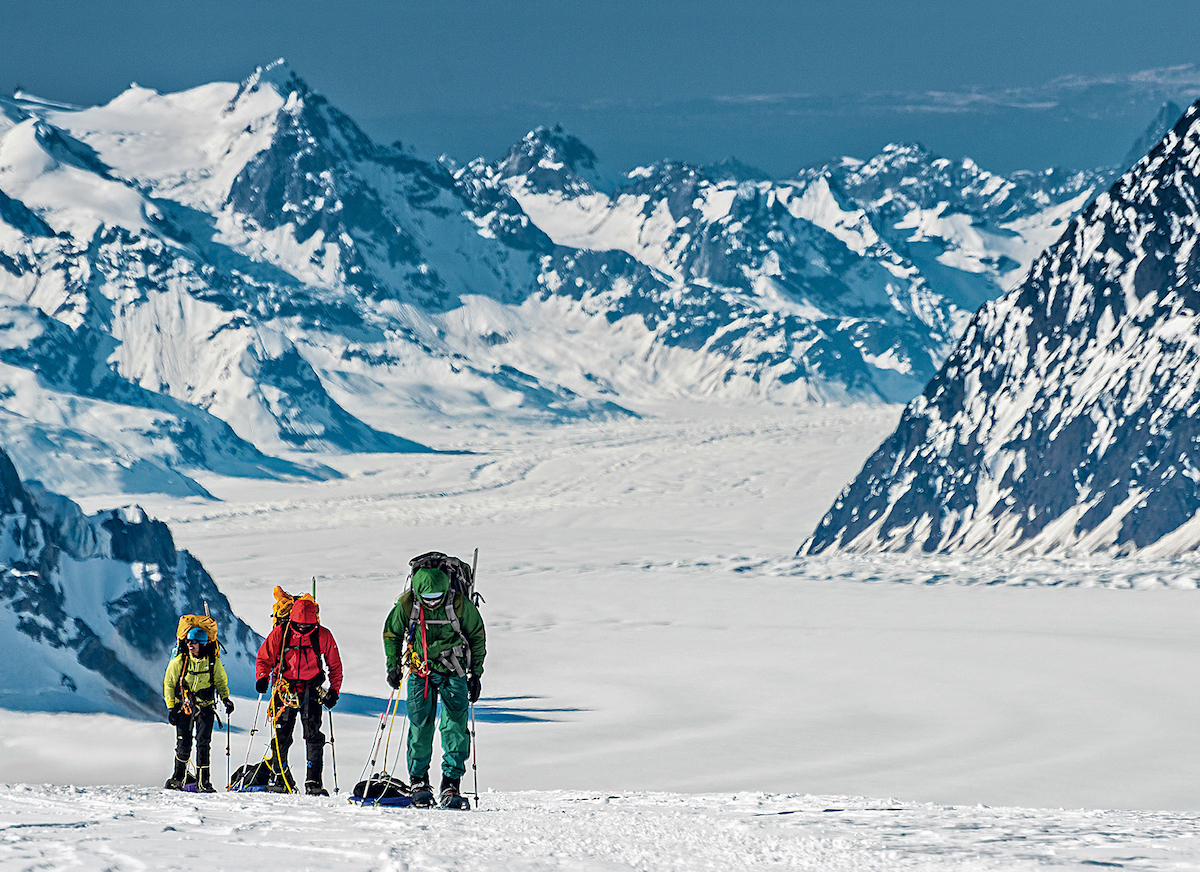 This image is from the award-winning film documenting the first African-American team on Denali. More information can be found at AnAmericanAscent.com. [Photo] Hudson Henry