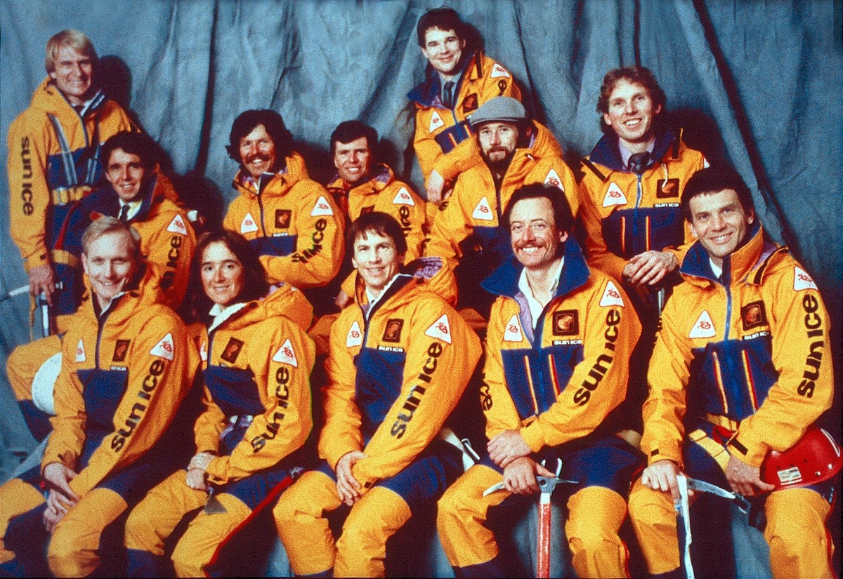 The Canadian Everest Light Team. [Photo] Courtesy of Continental Bank and Mountaineers Books