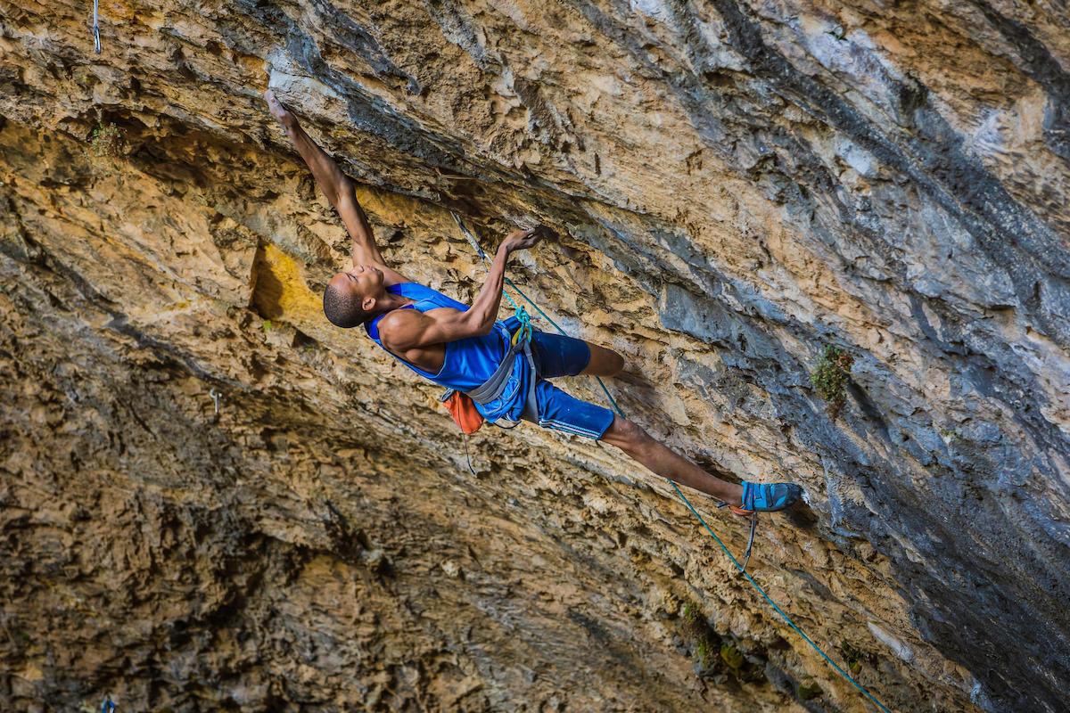Kai Lightner. [Photo] Courtesy of the American Alpine Club