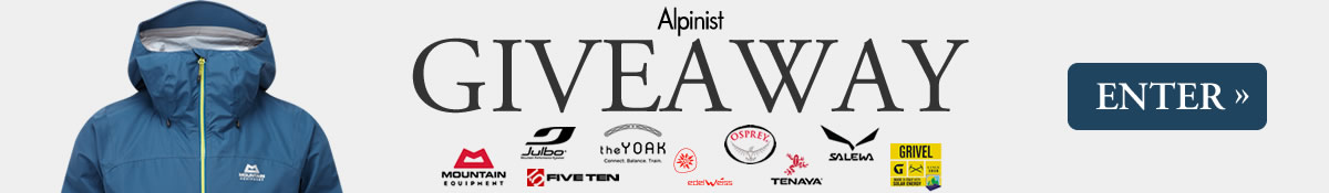 Enter the Alpinist Fall 2017 Giveaway